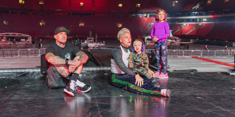"""Carey Hart and Pink star in P!NK: """"All I Know So Far."""""""