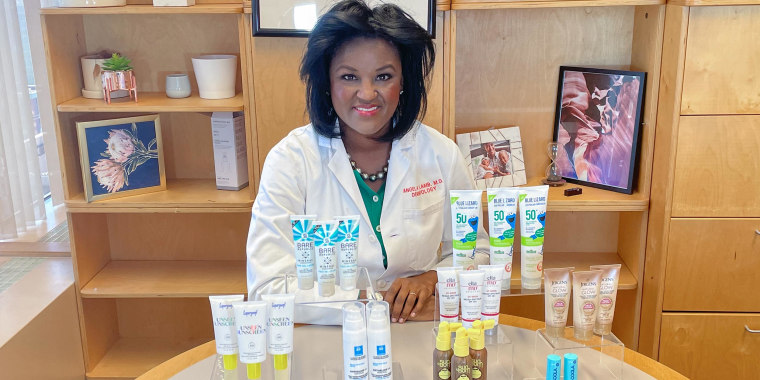 Dr. Angela Lamb shares on broadcast the best sunscreens to prevent cancer