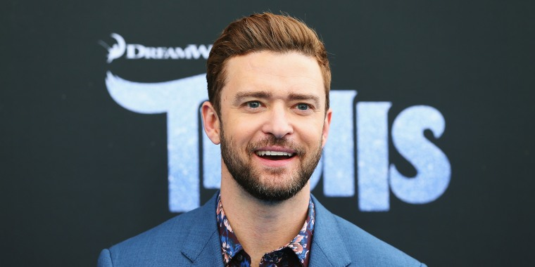 Justin Timberlake arrives at the 'Trolls' Australian Premiere on November 20, 2016 in Sydney, Australia.