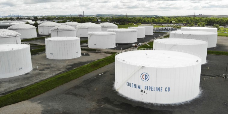 Image: Colonial Pipeline aerial, storage tanks