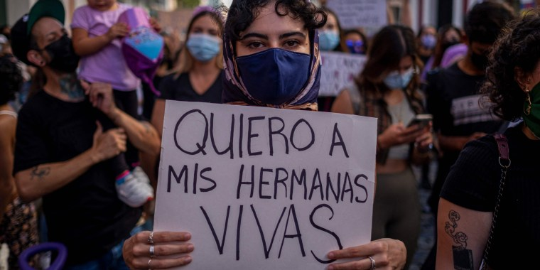 Image: PUERTORICO-DEMONSTRATION-SEXUAL-VIOLENCE