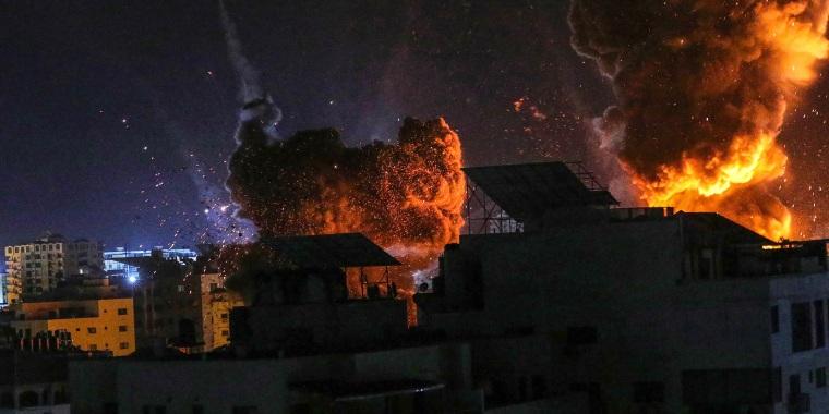 Image: Gaza Israeli Strikes
