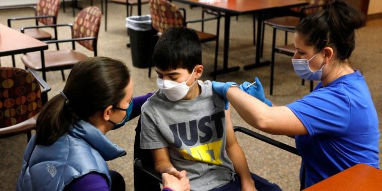 Image: Covid vaccination