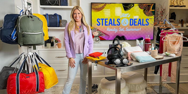 Jill Martin segment on broadcast called Steals and Deals