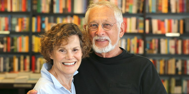 Judy Blume with husband George Cooper