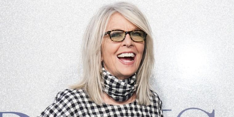 Diane Keaton Smiles