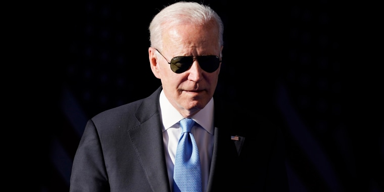 President Joe Biden arrives to speak at a news conference after meeting with Russian President Vladimir Putin on June 16, 2021, in Geneva.