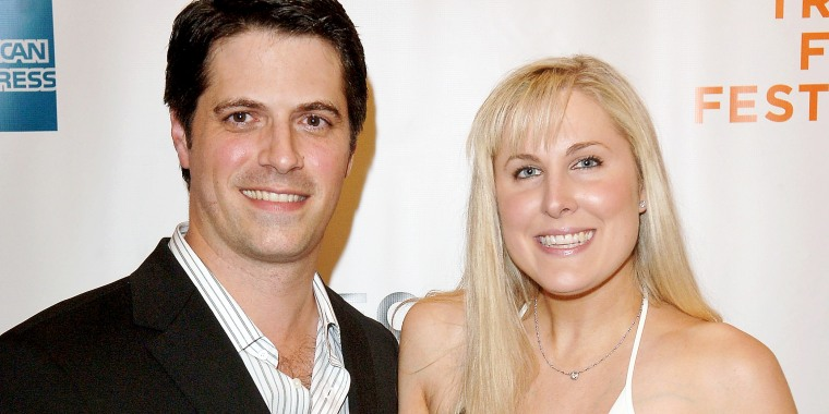 Director Nick Guthe and Heidi Ferrer during the 5th Annual Tribeca Film Festival on May 1, 2006 in New York.