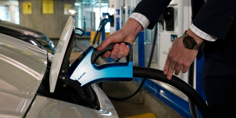 Image: EVgo electric charging station