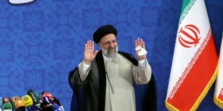 Image: Iran's President-elect Ebrahim Raisi