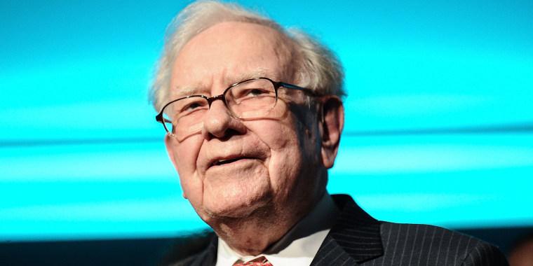 Warren Buffett attends the Forbes Media Centennial Celebration in New York on Sept. 19, 2017.