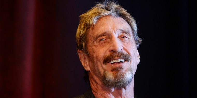 John McAfee founder of McAfee anti virus/security software was the keynote speaker for the 10th anniversary  Rocky Mountain Information Security Conference  in Denver.