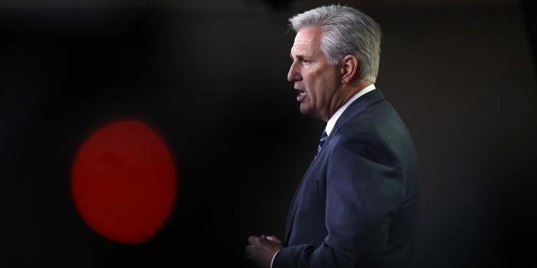 Image: House Minority Leader Kevin McCarthy Holds Weekly Press Conference