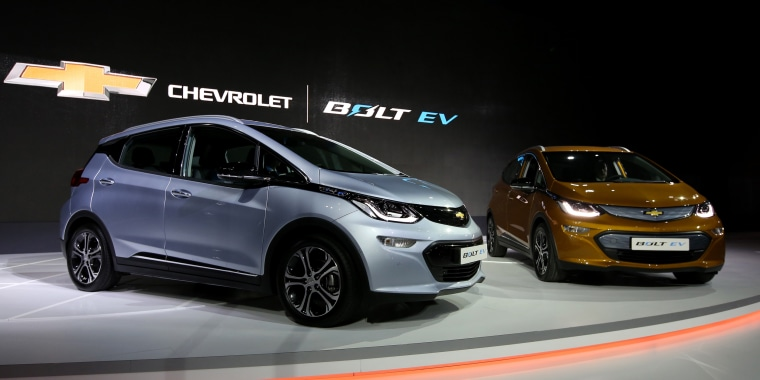 Image: Chevrolet Bolt electric vehicle