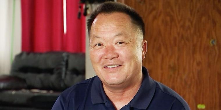 Screen grab of Suni Lee's dad