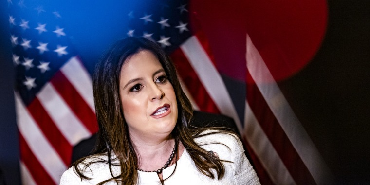 Image: Rep. Elise Stefanik, R-NY, at the Capitol on May 14, 2021.