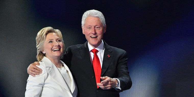 Image: Bill Clinton, Hillary Clinton, 2016 Democratic National Convention - Day 4