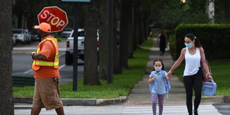 Image: Florida school masks mandates