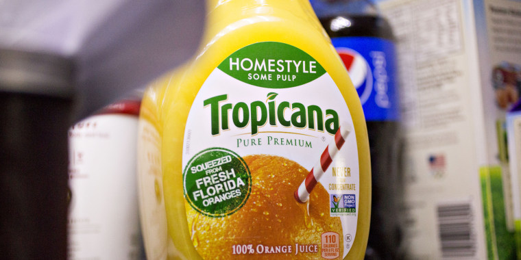 PepsiCo is selling Tropicana and other juice brands to a French private equity firm.