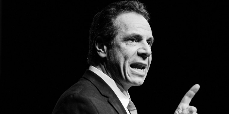 New York Gov. Andrew Cuomo delivers his State of the State speech in Albany, N.Y., Jan. 15, 2019.