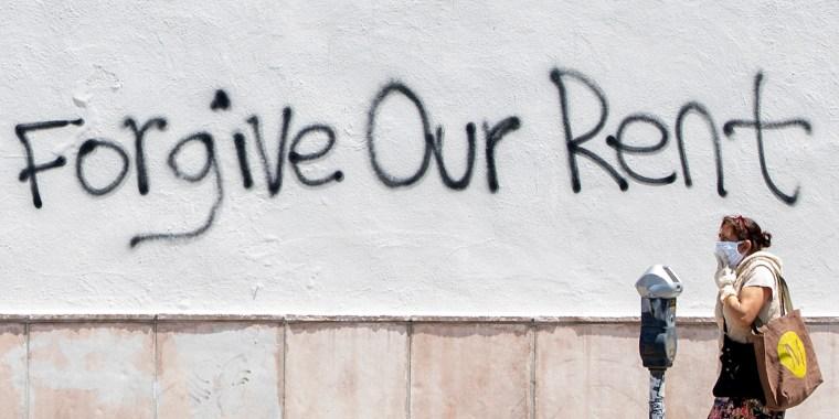 Image: Forgive rent