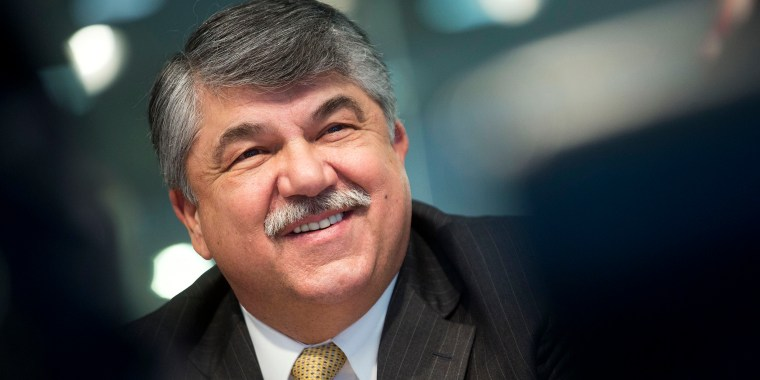 Image: Richard Trumka, president of the AFL-CIO, during an interview in Washington, on March 11, 2014.