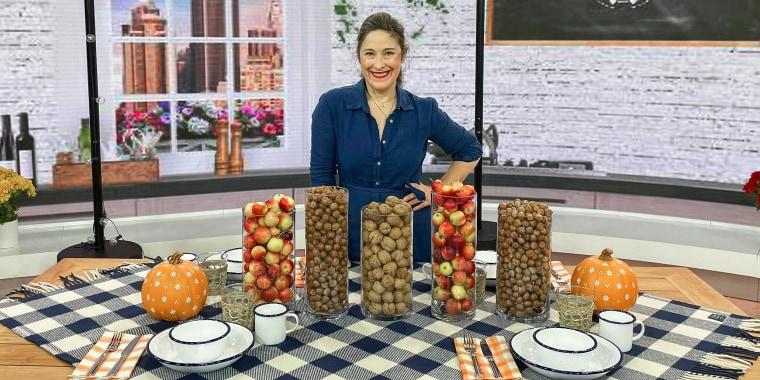Elizabeth Mayhew shares fall decor tips