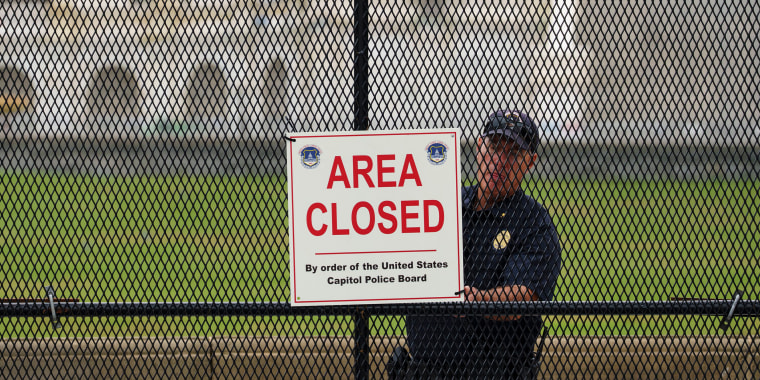 Image: Washington, DC Security Heightened Ahead Of September 18 Rally