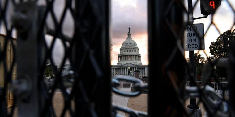 Image: *** BESTPIX *** Washington, DC Security Heightened Ahead Of September 18 Rally