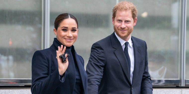 The Duke and Duchess of Sussex, Prince Harry and Meghan