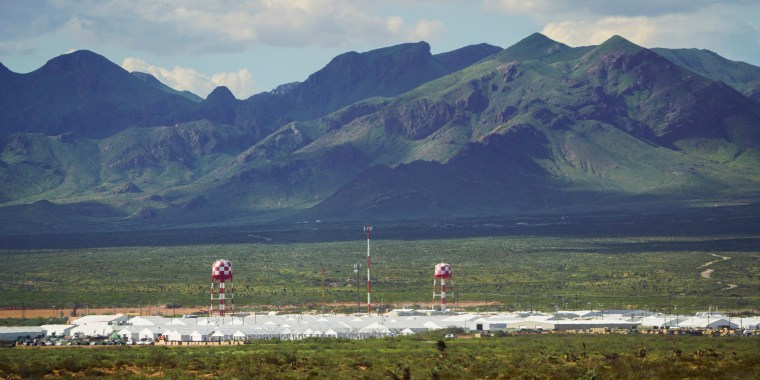 Image: The Dona Ana Range Complex on Fort Bliss near Chaparral, New Mexico