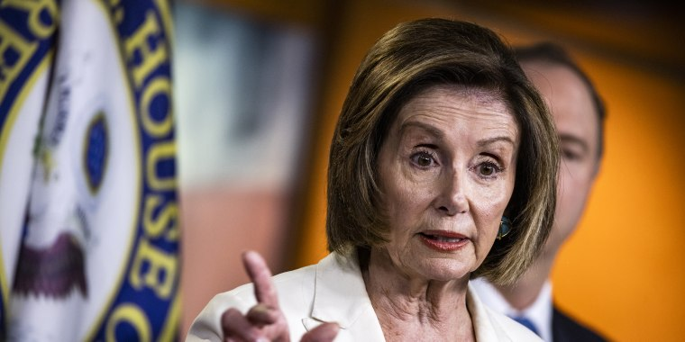 Image: House Speaker Pelosi Holds Weekly News Conference