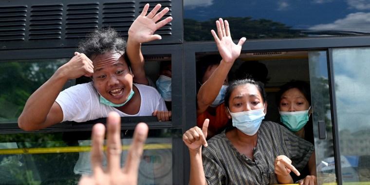 Image: MYANMAR-POLITICS-COUP-MILITARY