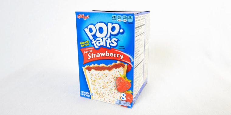 Kellogg's strawberry-flavored Pop tarts.