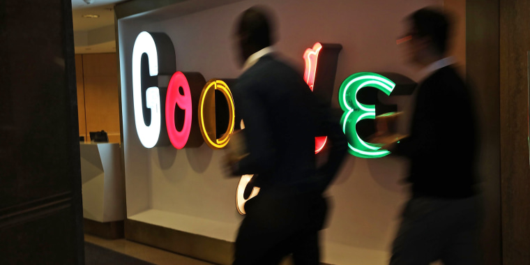 Google's New York offices on March 5, 2018.