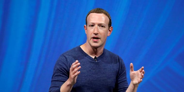 Image: Facebook CEO Mark Zuckerberg.
