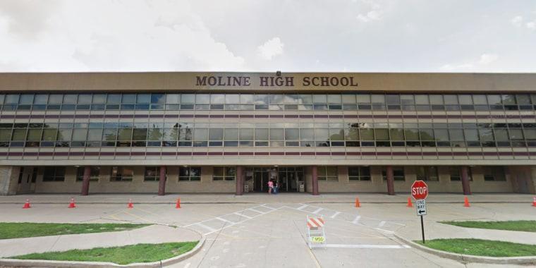 Moline High School in Moline, Ill.