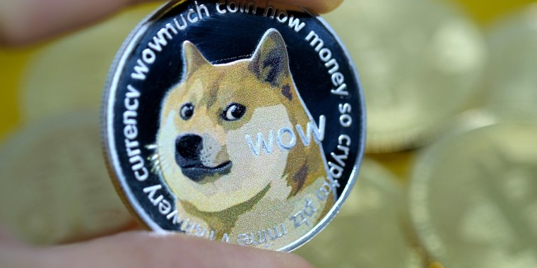 Digital cryptocurrency, Dogecoin.
