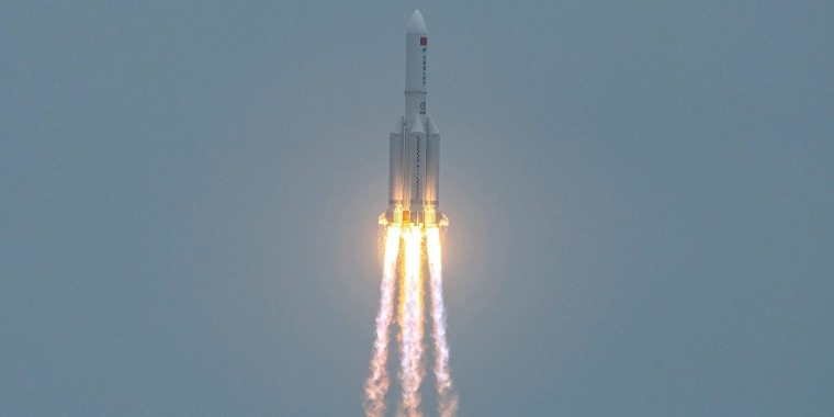 Image: Long March 5B rocket