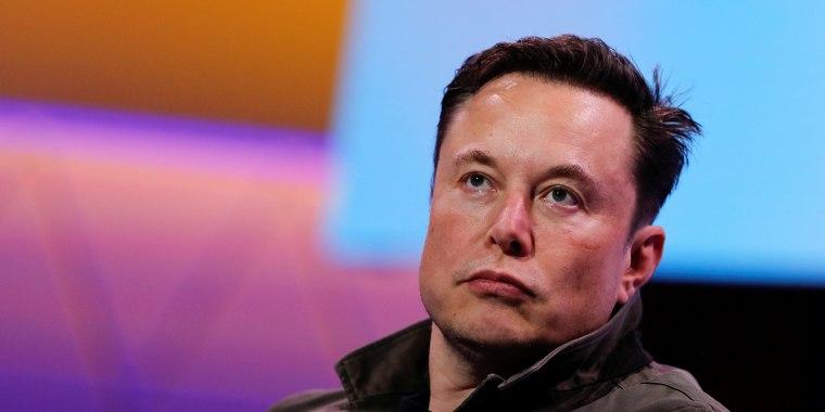 Image: Elon Musk in Los Angeles on June 13, 2019.