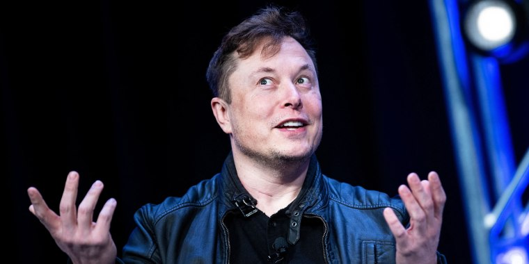 Tesla CEO Elon Musk speaks in Washington on March 9, 2020.