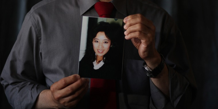 Harry Ong, brother of Betty Ong, who was a flight attendant on Flight 11 on September 11, 2001, holds a portrait of his sister, Betty Ong, at his home on Tuesday, September 6, 2011 in San Francisco, Calif.  Ong  was a flight attendant on Flight 11 on 9/11