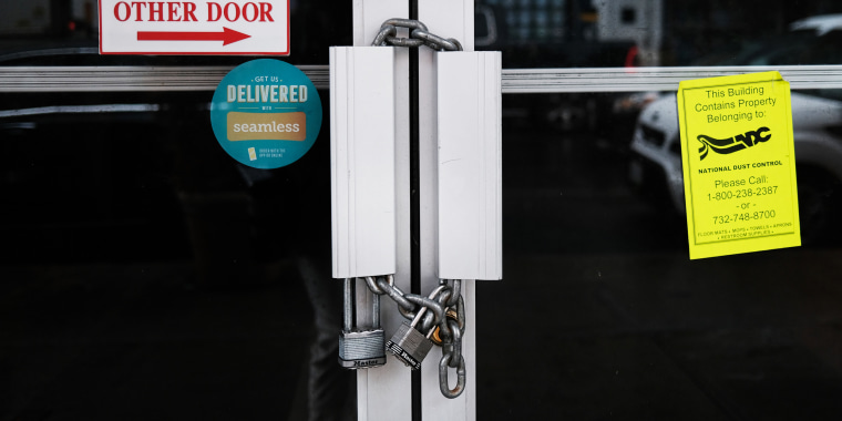 A diner sits closed in Brooklyn, N.Y., on Dec. 09, 2020 in New York.