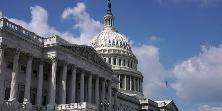 Frente este del Capitolio de Estados Unidos en Washington.