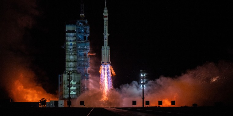 Image: China Launches Longest Crewed Mission to New Space Station
