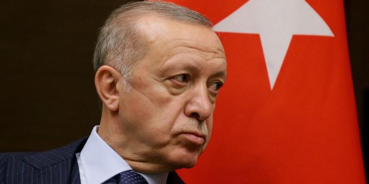 Image: FILE PHOTO: Turkish President Tayyip Erdogan in Sochi, Russia September 29, 2021
