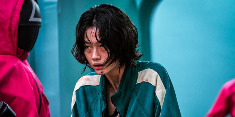 """Jung Ho-yeon in """"Squid Game"""" on Netflix."""