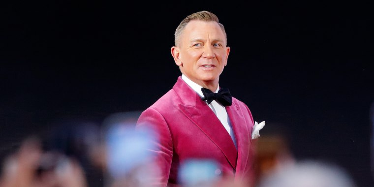 """Image: Daniel Craig attends the """"No Time To Die"""" World Premiere at the Royal Albert Hall on Sept. 28, 2021 in London."""