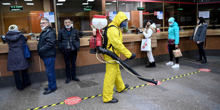 Image: RUSSIA-HEALTH-VIRUS