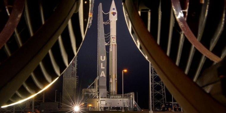 Image: TOPSHOT-US-SPACE-JUPITER-LUCY